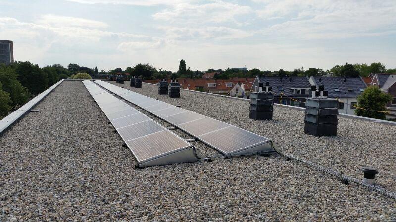 Zonnepanelen project Woningbouwstichting De Gemeenschap